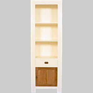 boekenkast-white-wash-met-teak